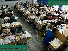 Lecturer shoeplay in class 5