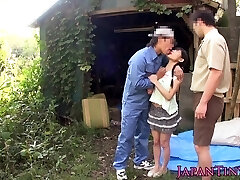 bendable facialized oriental teens mmf 3 way