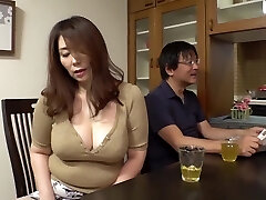 GVH-119 Son-in-law Aiming For Too Lustful Big Tits Of Mummy-in-law