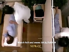 Japanese housewife fucked in massage room Two