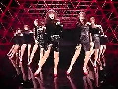 warm Korean girls dance softcore