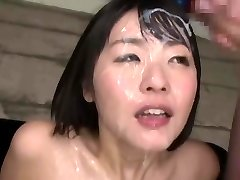 Asian bukkake queen