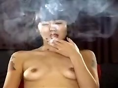 Exotic homemade Small Udders, Smoking porn scene