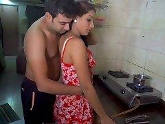 Husband eating wife