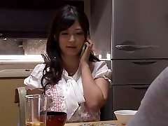 My Wifey Began An Affair .... Able To Do Sans Fear And Disappointment Of Marital Relationship That Chilled Enough To Irreparable Also Fabulous Daughter-in-law-in-law Of Cuckold Super-naughty To Eliminate And Clean, Others Not Stick. Nozomi Sato Haruka