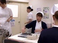 Crazy Japanese tramp Aya Sakuraba, Yuri Aine, Yu Kawakami in Mischievous Handjobs JAV clip