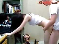 Asian University Student Homemade Sex
