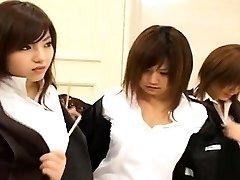 Υπότιτλους Ιαπωνική ομάδα γυμνιστών πρωκτό επιθεώρηση lineup