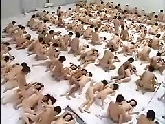 Hefty Group Sex Orgy
