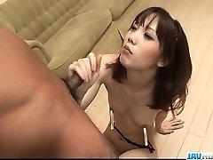 Sensual Ageha Kinashita craves to swallow some spunk