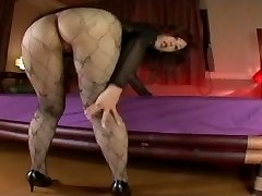 Japanese Av Model Shame ! Voyeur : Fur Covered Pussy Through Pantyhose ! 9