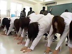 Epic Japanese model Hinata Mahiru, Rui Hazuki, Kalen Ichinose in Crazy Fetish, Slapping JAV clip