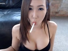 asian smoke sex