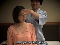 Subtitled Japanese hotel massage bj sex nanpa in HD