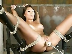 Beti Hana Roped And Machine Fucked