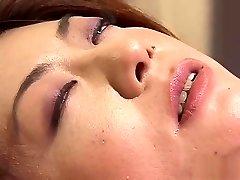 Astounding Japanese chick in Wild Uncensored, Handjobs JAV movie