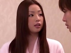 Horny Japanese chick Risa Kasumi in Incredible Rimming JAV movie