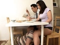 Chinese Step Mom with No Panty