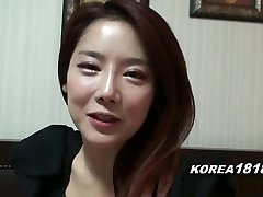 KOREA1818.COM - Super-steamy Korean Gal Filmed for SEX