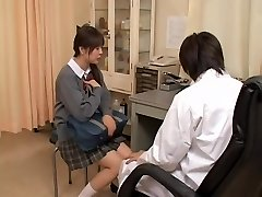Real gyno sex video with japanese slut examined by crazy doctor