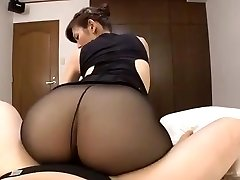 Chinese mature black pantyhose sex