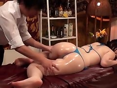 Slimming Massage for Huge-titted Japanese Wives - 2
