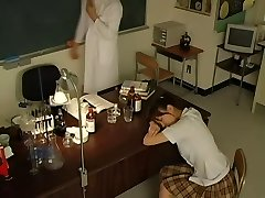 Hot Japanese student got fucked by a pervy doctor