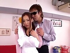 Horny Japanese whore Rika Aiuchi in Wondrous  Blowjob, Sports JAV flick