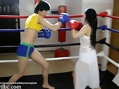 Grappling 0024; Chinese Girl Boxing