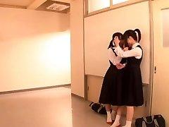 Lesbian Schoolgirl Battle (2 of 3 censored)