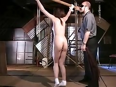 Flogging a Thin Japanese OL
