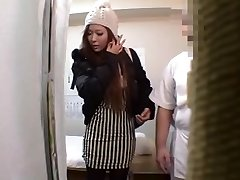 Japanese girl Busts After Massage
