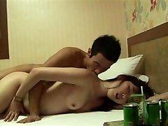 Korean couple intercourse