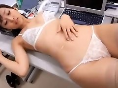 softcore asian secretary lingerie stocking taunt