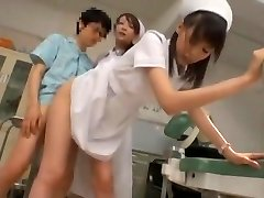 Exotic Asian model Yuria Shima, Azusa Ito in Best Nurse JAV sequence