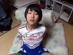Beautiful asian gal Riku Minato luvs extreme sex