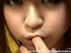 Cutie Mahiru Hino Wanked Until She Squirts