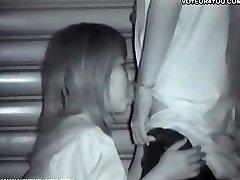 Covert Camera Voyeur Outdoors Sex
