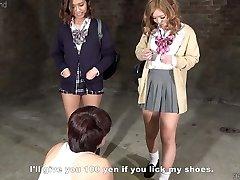 Japanese Schoolgirls CFNM Tease and Denial