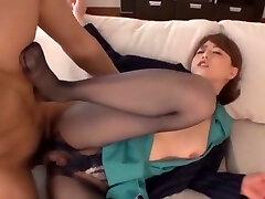 Akiho Yoshizawa in Stocking Leg Queen