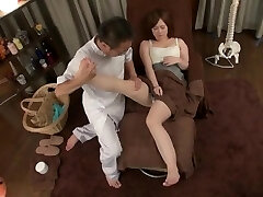 japanese foot massage and fuck-a-thon