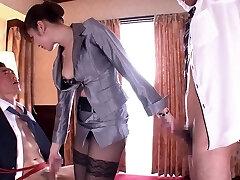 Incredible Japanese girl in Amazing HD, 3some JAV movie