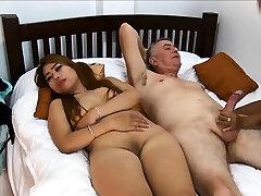 Thai girlfriend brings her friend along for a threesome