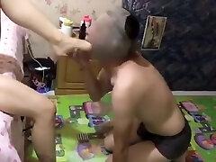 Chinese Femdom Ass Licking 2