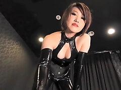 Fabulous Japanese chick in Extraordinaire HD, Latex JAV movie