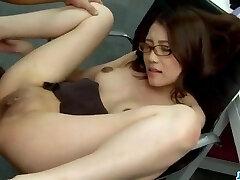 Sweet Ibuki luvs cock from behind while at