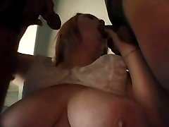 Big Tit BBW Bricklyn Gets Her Moist Slit Fucked By Two Gents
