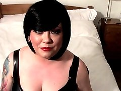 Tina Snua Telling You What A Cock Loving Sissy You Are