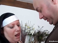 Ultra-kinky nuns are about to have a real black experience, until everyone gets completely sated