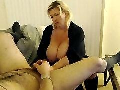 Squirting Waitress Gets Pummeled Like A Boss!